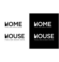 House for logo design editable vector
