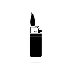 lighter icon concept for design vector image