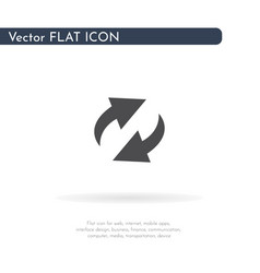 loading icon for web business finance and vector image