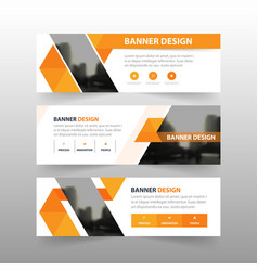 Orang triangle abstract polygon corporate business vector