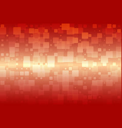 Orange red beige glowing various tiles background vector