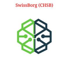 Swissborg chsb logo vector
