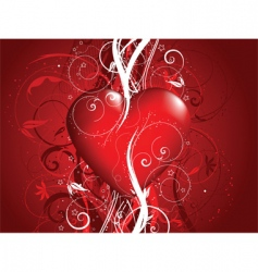 decorative valentines vector image vector image
