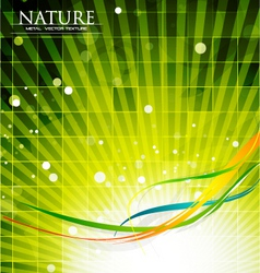 modern nature vector image
