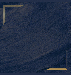 Abstract background with golden frame vector