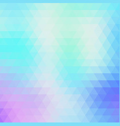 abstract geometric blue background of triangles vector image