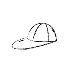 figure cap fashion style object design vector image
