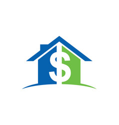 House money sold logo vector