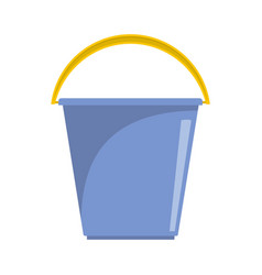 Pail icon flat style vector