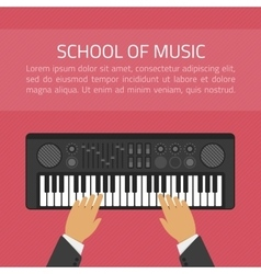 School of music vector