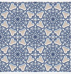 Seamless geometric pattern in arabic style vector