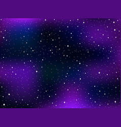 Star sky space star background nebula the milky vector