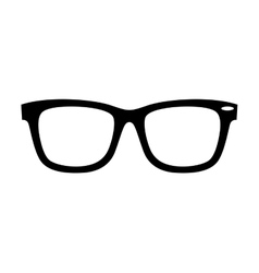style glasses isolated icon vector image