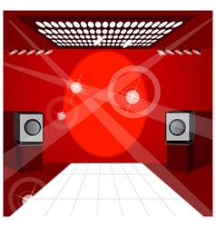 Club Dance Floor vector image
