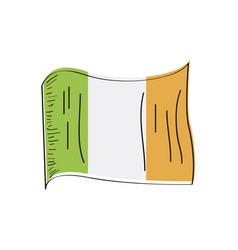 flag ireland vector image
