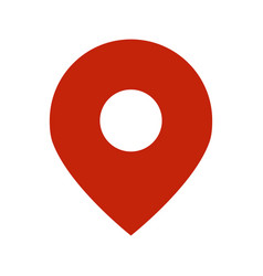 geo location pin icon vector image