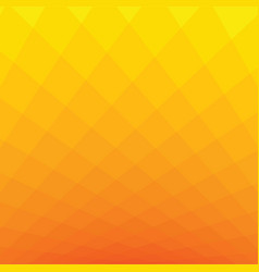 Orange and yellow square tone background vector