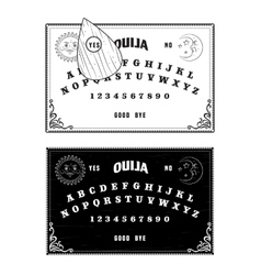 Ouija boards vector