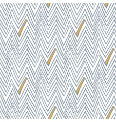 Simple seamless pattern with zigzag lines vector image