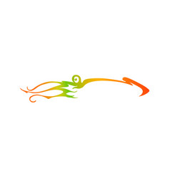 Squid silhouette logo calamary gradient logotype vector