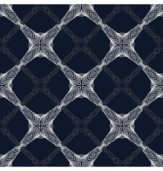 1930s geometric art deco modern pattern vector image