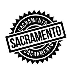 Sacramento rubber stamp vector