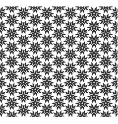 abstract star geometric seamless pattern vector image