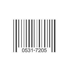barcode product distribution icon business vector image