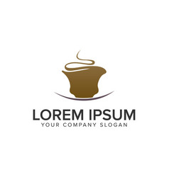 coffee logo design concept template fully editable vector image