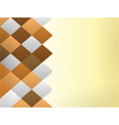 Color quadrangles background vector