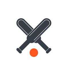 Cricket icon vector
