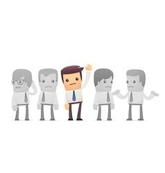 elected employee vector image