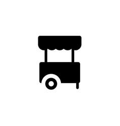 kios shop icon vector image
