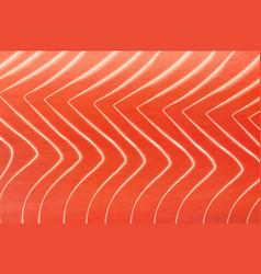 Salmon texture japanese cuisine fish background vector