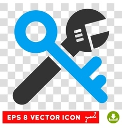 Security Tools Eps Icon vector