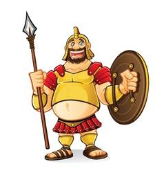 Fat Goliath vector image