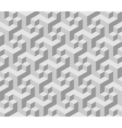 3d cube background vector image