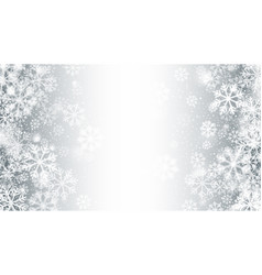 blurred motion magic christmas snow 3d effect vector image