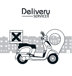 Delivery service concept vector
