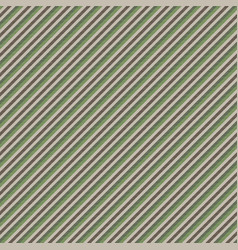 green brown striped seamless pattern vector image