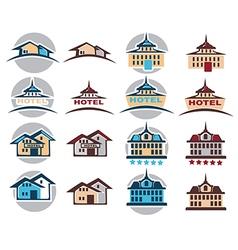 Hotel logo vector