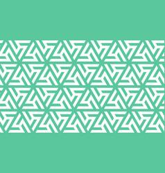 Neo mint windmill geometric seamless vector