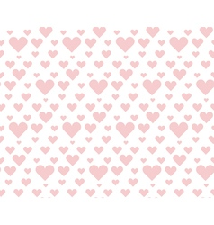 valentine pale pink seamless polka dot pattern vector image vector image