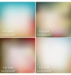 Abstract colorful blurred retro vintage background vector