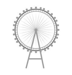 british london eye vector image