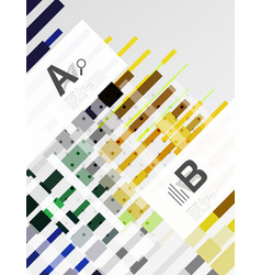 Colorful stripes abstract background vector