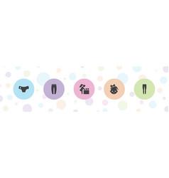 Diaper icons vector