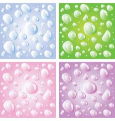 droplets vector image vector image