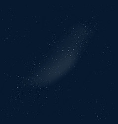 outer space background night vector image