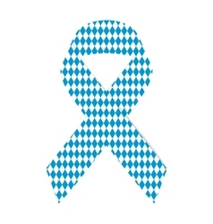 Tape pattern of the Bavarian flag Oktoberfest vector
